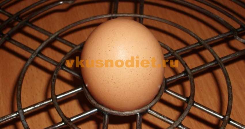 Яйца запечённые в аэрогриле