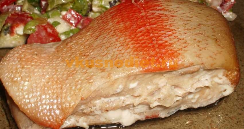 Рыба в пароварке