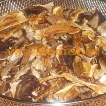 Как сушить грибы в аэрогриле?