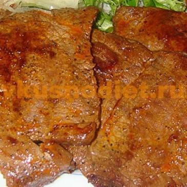 Мясо в аэрогриле кусочками