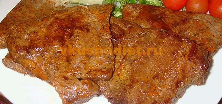 Мясо в аэрогриле —  рецепт приготовления стейка