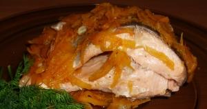 Рыба с тыквой