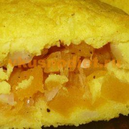 Картофельные пирожки с начинкой из тыквы