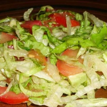 Салат Айсберг – рецепты приготовления с авокадо