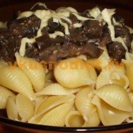 Макароны с баклажанами со вкусом грибов
