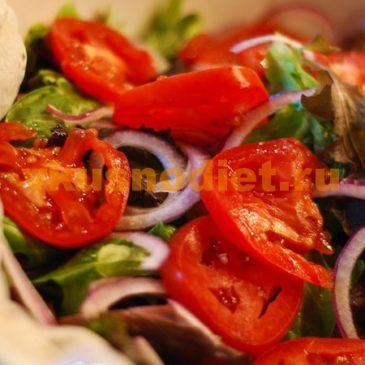 Вкусный, простой салат из помидоров Ачик-Чучук (Шакарап)