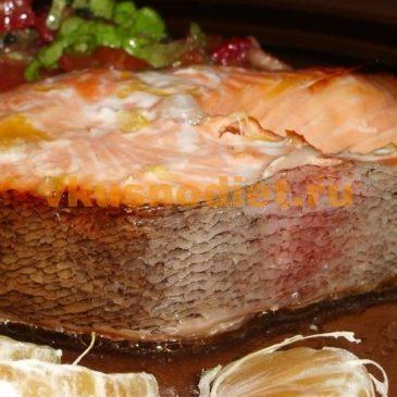 Рыба с апельсинами – праздничный рецепт