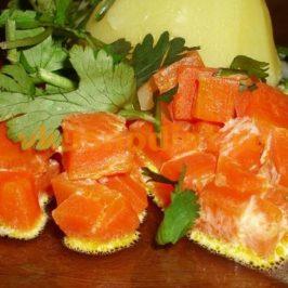 Морковь со сливками