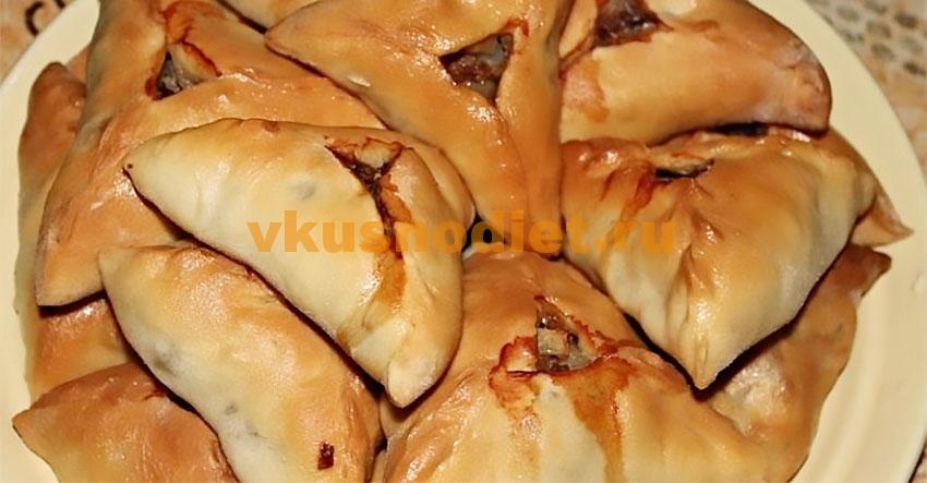 Татарский пирог — рецепт слоеного теста на кефире